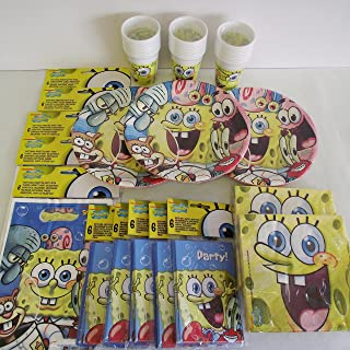 Spongebob birthday party pack